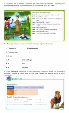 Interactive worksheet Listen and read the interview
