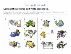 Interactive worksheet Lets go to the pak