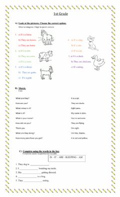Interactive worksheet Revision Unit 6 - On the Farm
