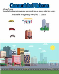 Interactive worksheet Comunidad urbana