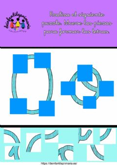 Interactive worksheet Puzzle letra o