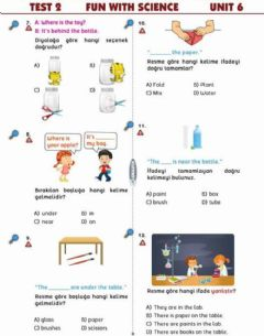 Interactive worksheet Fun With Science