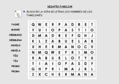 Interactive worksheet Desafío familiar