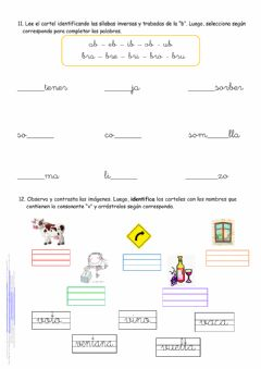 Interactive worksheet GTA 11 y 12