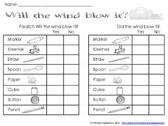 Interactive worksheet Air
