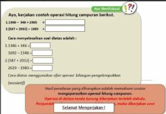 Interactive worksheet Tugas Matematika 2