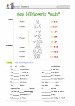 Interactive worksheet Sein