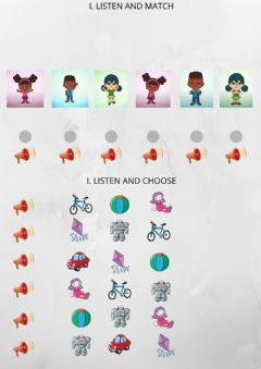 Interactive worksheet Toys and emotions