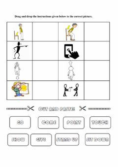 Interactive worksheet Picture instructions