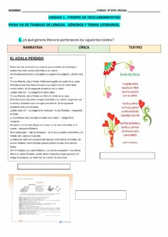 Interactive worksheet Ficha VII LCL T-1