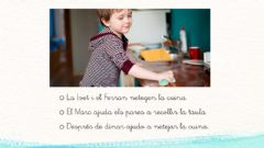 Interactive worksheet Lectura frases 2