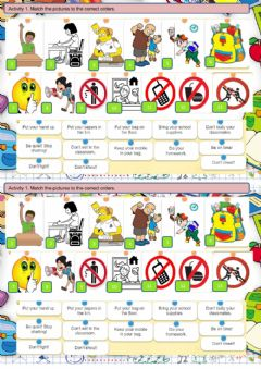 Interactive worksheet Classroom English Segpa