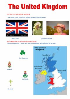 Ficha interactiva The United Kingdom