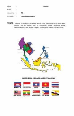Interactive worksheet Asean