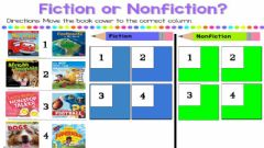 Interactive worksheet Fiction and Non Fiction