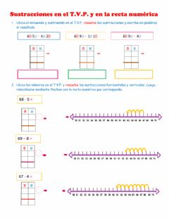 Interactive worksheet Sustracciones