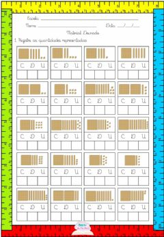 Interactive worksheet Material dourado 2