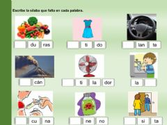 Interactive worksheet Letra V-comprensión