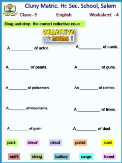 Ficha interactiva Class 5 English worksheet - 4