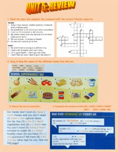 Interactive worksheet Review unit 4 - beyond a2