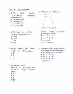 Interactive worksheet Latihan soal uh