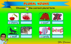 Interactive worksheet Plural Nouns 3 (Choose the correct plural form)