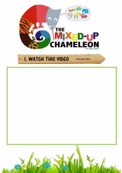 Ficha interactiva The Mixed Up Chameleon