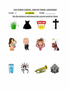 Interactive worksheet Ss phonic sound
