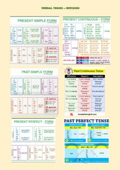 Ficha interactiva Present and past verbal tenses revision