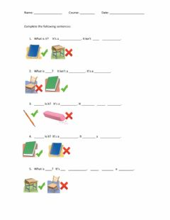 Interactive worksheet Review unit 1 kids1
