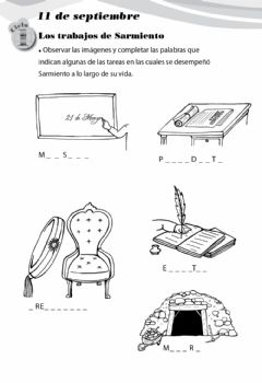 Interactive worksheet Sarmiento