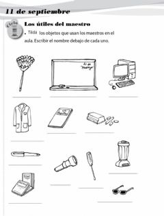 Interactive worksheet Dia del maestro