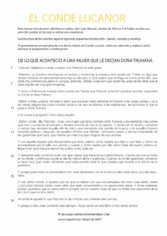 Interactive worksheet El Conde Lucanor