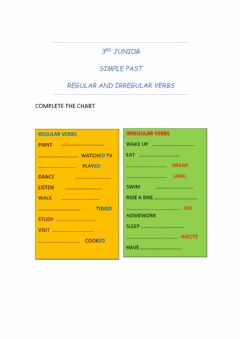 Interactive worksheet Simple Past