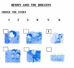 Ficha interactiva Benny and The Biscuits