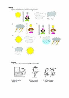 Interactive worksheet Julio 4th, 5th, 6th