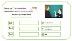 Ficha interactiva Accepting Complements