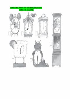 Interactive worksheet The time