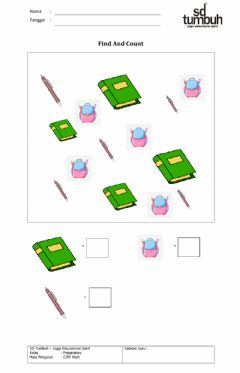 Interactive worksheet Find and count