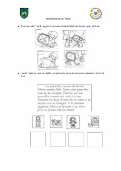 Interactive worksheet Secuencia narrativa