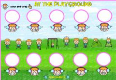 Interactive worksheet At the Playground (Drag and drop)