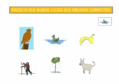 Interactive worksheet Sons d'una paraula A(5)