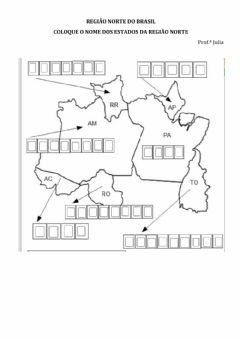 Interactive worksheet Região Norte