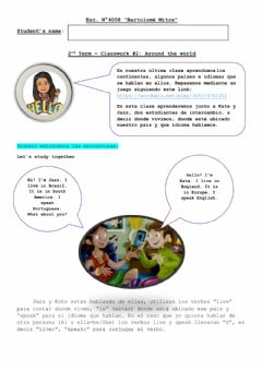 Interactive worksheet HIE 3 - Lesson 2