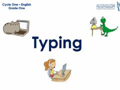 Interactive worksheet Grade1- Typing- Activity1