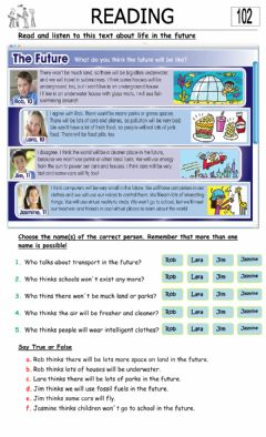 Interactive worksheet 5° 102
