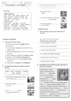Interactive worksheet PAST SIMPLE - revision activities