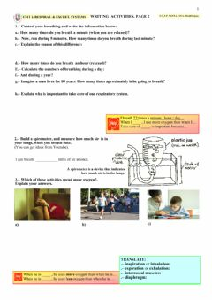 Ficha interactiva NUTRITION 2. Activities. Page 2