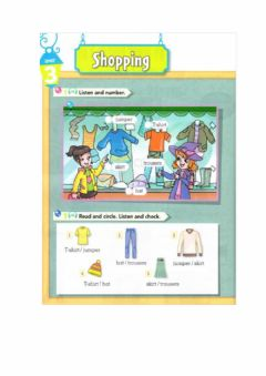 Interactive worksheet Clothing- Unidad 3