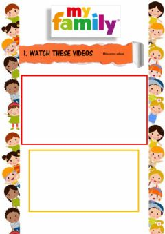 Interactive worksheet Family and Shapes